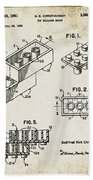1961 Lego Patent Beach Sheet