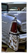 1961 Lincoln Continental Taillight Beach Towel
