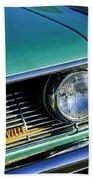 1961 Pontiac Bonneville Grille Emblem Beach Towel