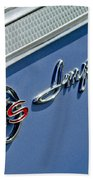 1962 Chevrolet Impala Emblem Beach Towel