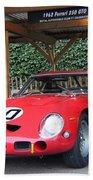 1962 Ferrari 250 Gto  Beach Towel