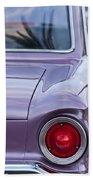 1963 Ford Falcon Tail Light Beach Towel