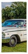 1963 Ford Galaxie 500xl Hardtop Beach Towel