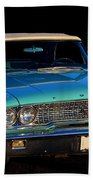 1963 Ford Galaxy Beach Towel