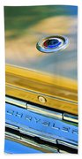 1964 Chrysler 300k Convertible Emblem -3529c Beach Towel