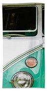 1964 Volkswagen Vw Samba 21 Window Bus Beach Towel