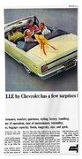 1965 Chevelle Convertible Beach Towel
