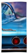 1965 Chevrolet Corvette Stingray Beach Towel