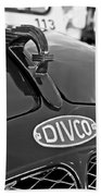 1965 Divco Milk Truck Hood Ornament 3 Beach Towel