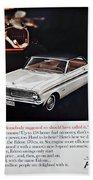 1965 Ford Falcon Ad Beach Towel