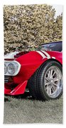 1965 Grand Sport Sebring  Beach Towel