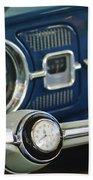 1965 Volkswagen Vw Beetle Steering Wheel Beach Towel