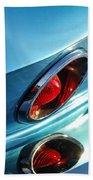 1966 Chevrolet Corvette Taillight -120c Beach Towel