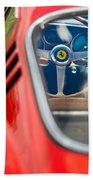 1966 Ferrari 275 Gtb Steering Wheel -0408c Beach Towel