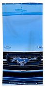 1966 Ford Mustang Front End Beach Towel