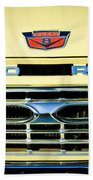 1966 Ford Pickup Truck Grille Emblem Beach Towel
