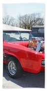 1966 Gto Monkeemobile Beach Towel