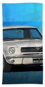 1966 Mustang Beach Towel
