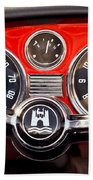 1966 Volkswagen Vw Karmann Ghia Steering Wheel Beach Towel