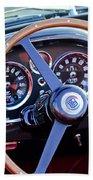 1967 Aston Martin Db6 Volante Steering Wheel 2 Beach Towel