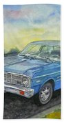 1967 Ford Falcon Futura Beach Towel