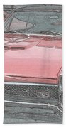 1967 Pontiac Gto Beach Towel