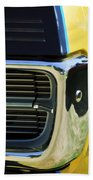 1967 Pontiac Hurst Grand Prix Convertible Grille Emblem -3569c Beach Towel