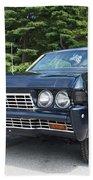 1968 Chevrolet Impala Sedan Beach Towel