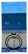 1968 Ford Shelby Gt500 Kr Convertible Rear Emblems Beach Towel