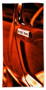 1968 Hemi Dodge Charger Beach Towel