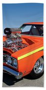 1968 Plymouth Road Runner Beach Towel