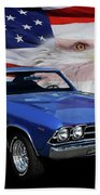 1969 Chevelle Tribute Beach Towel