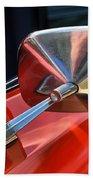 1969 Chevrolet Camaro Rs - Orange - Side Mirror - 7588 Beach Towel