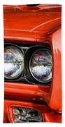 1969 Pontiac Gto The Judge Beach Towel