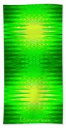 197 - Deco Green 2 Beach Towel