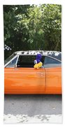 1970 Plymouth Dodge Superbird Beach Towel