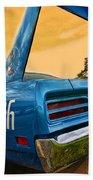1970 Plymouth Road Runner Superbird Beach Towel