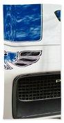 1970 Pontiac Firebird Grille Emblem Beach Towel by Jill Reger