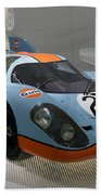 1970 Porsche 917 Kh Coupe Beach Towel