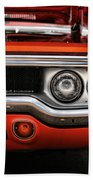 1972 Plymouth Road Runner Beach Towel