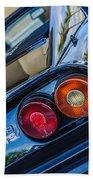 1980 Ferrari 308 Gtsi Taillight Emblem -0036c Beach Towel
