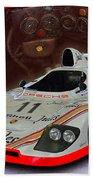 1981 Porsche 936/81 Spyder Beach Towel