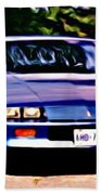1985 Chev Camero Beach Towel