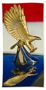 1986 Zimmer Golden Spirit Hood Ornament Beach Towel