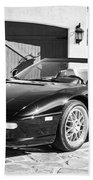 1997 Ferrari F 355 Spider -008bw Beach Towel
