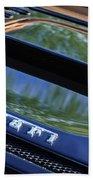 1997 Ferrari F 355 Spider Rear Emblem -117c Beach Towel