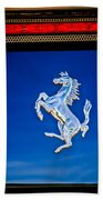 1997 Ferrari F 355 Spider Taillight Emblem -135c Beach Towel
