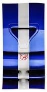 1998 Dodge Viper Gts-r Grille Emblem -0329c Beach Towel