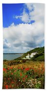 19th Century Duncannon Lighthouse Beach Towel