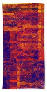 0171 Abstract Thought Beach Towel